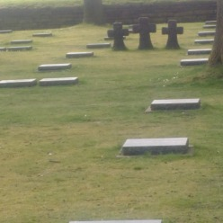 Langemark_Gravemarkers