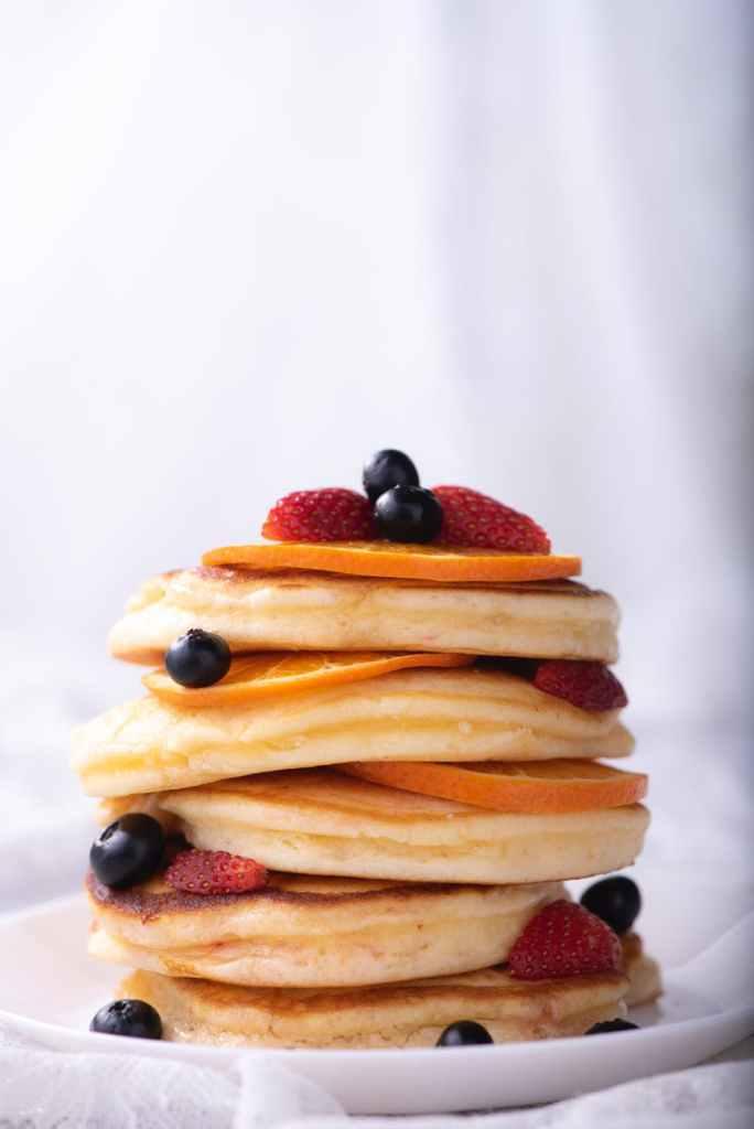 Photo of a stack of pancakes by Chokniti Khongchum on Pexels.com